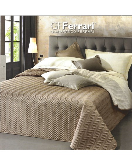 Bettdecke Clio Beige Double Face 220x260 cm