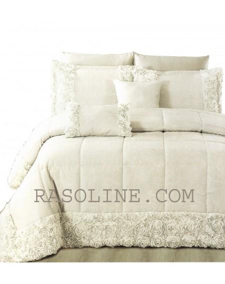 Winter Quilt Comforter Jacquard CHIC + 2 pillowcases 45x45cms GF Ferrari