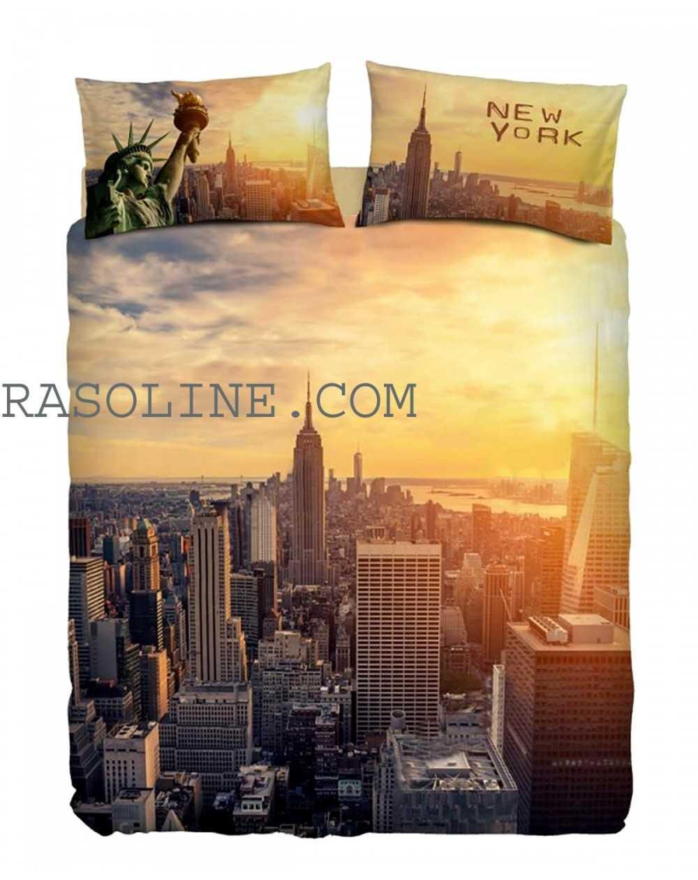 Copripiumino Singolo New York.Funda Nordica Completo Copripiumino Matrimoniale New York By