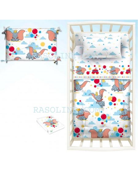 Baby Bedding Sheets Set Dumbo