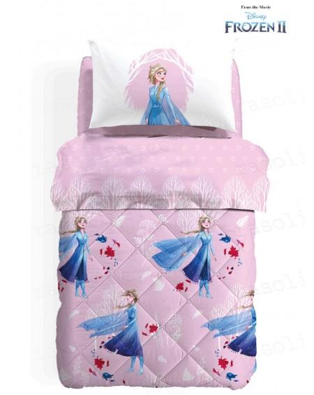 Bettwäsche Garnitur Spannbettlaken Bettlaken Frozen Disney Elsa Neve