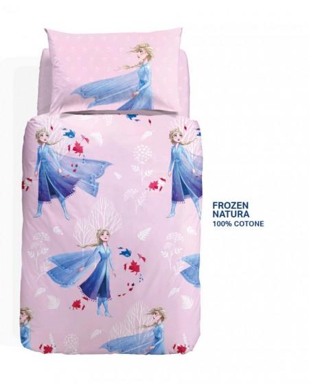 Duvet Set - a fitted sheet, Princess Frozen 2