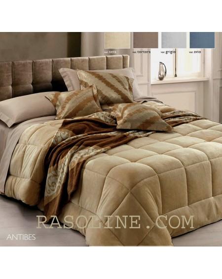 Steppdecke Bett 125 cm Antibes Beige