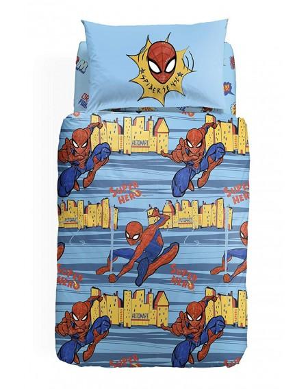FUNDA NORDICA Spiderman Warriors
