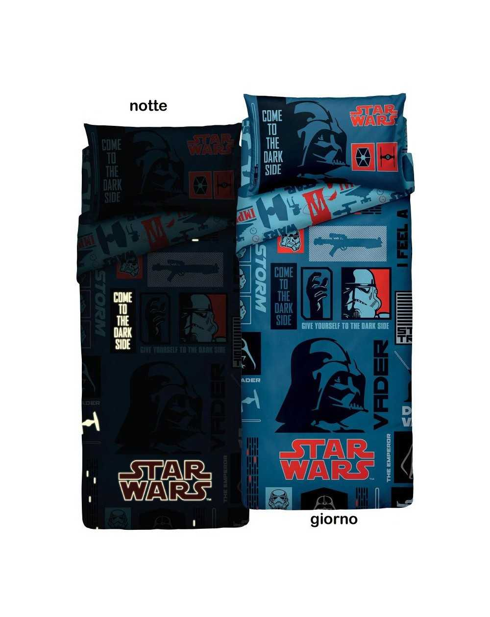 Funda Nordica Star Wars 90.Si Illumina Al Buio Star Wars Vader Zucchi Rasoline L F D Home
