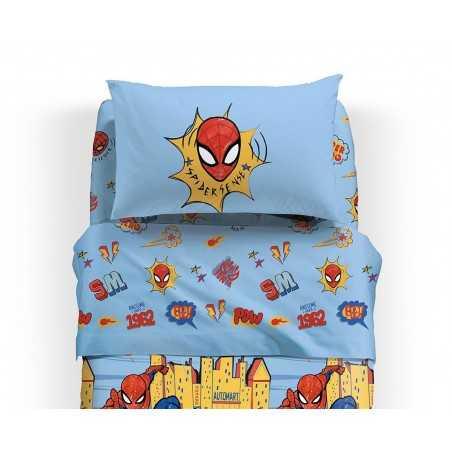 lenzuola spiderman NY