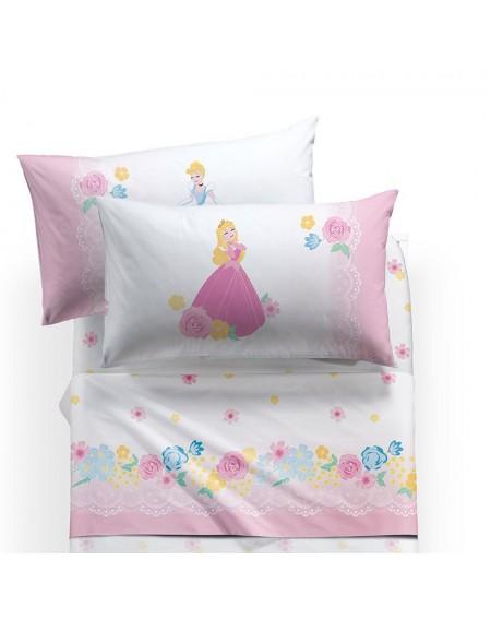 Garnitur Spannbettlaken Bettlaken Prinzessinnen