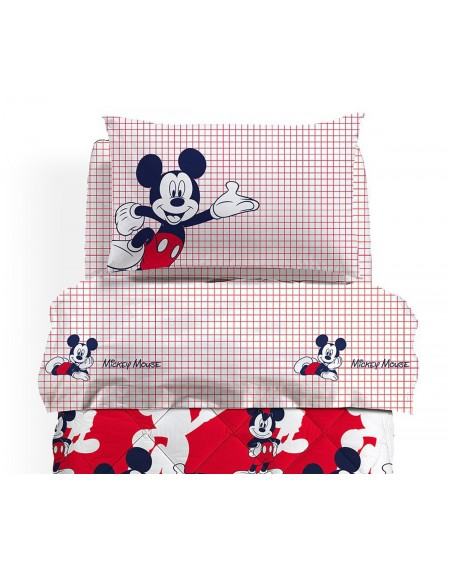 Set Bettlakens Mickey Mouse Colors