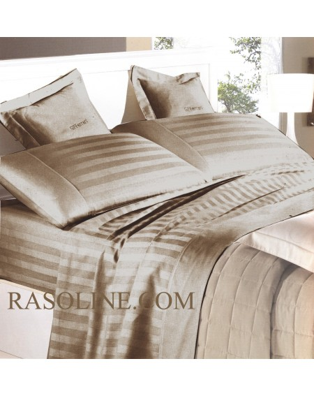 Beige Sheet Set in Pure...