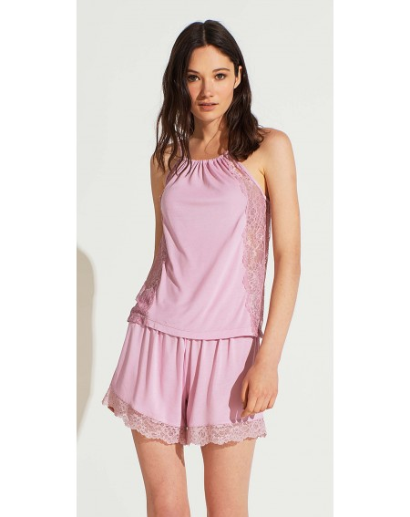 Pyjama court pour femme en Modal Noidinotte Bacio