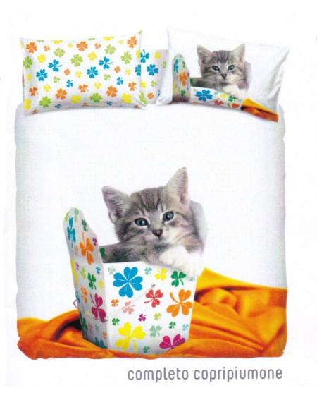 Completo Copripiumino LUCKY CAT Rachael Hale Bassetti