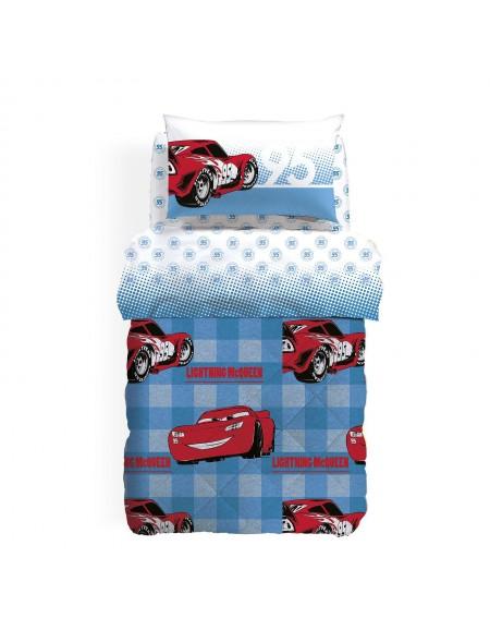 Juego de Sabanas Cars Turbo Caleffi cama 130cm