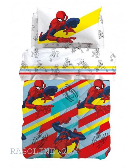 trapunta spiderman colors