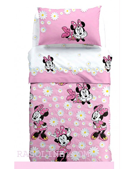 Juegos de sábanas para cama individual Minnie Margherite