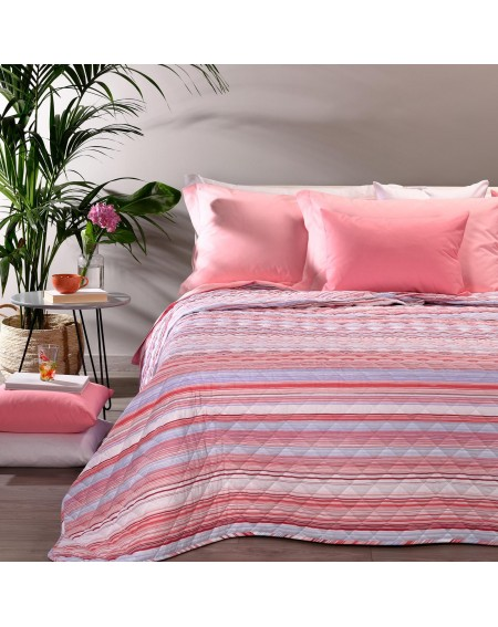 Bedspread UNIVERSAL Coral for Single Size Bed