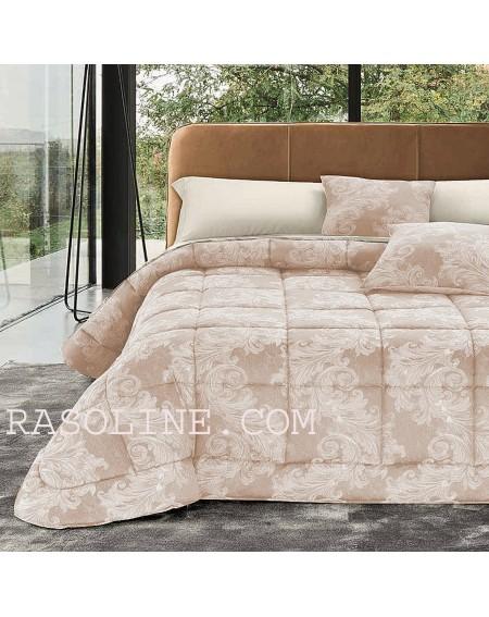 Couette d'hiver pour lit double Cora Rose Jacquard Duvet