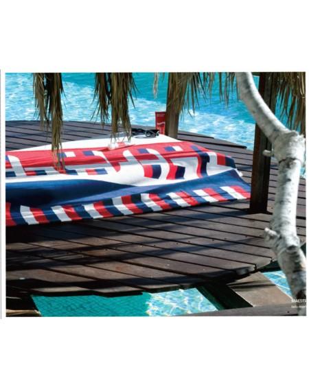 Serviette de plage MAESTRALE SPORT BASSETTI 90 x 180 cm