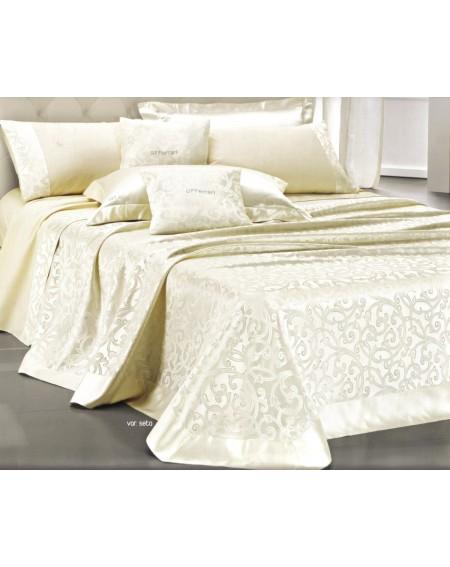 couvre lit avec parure drap...