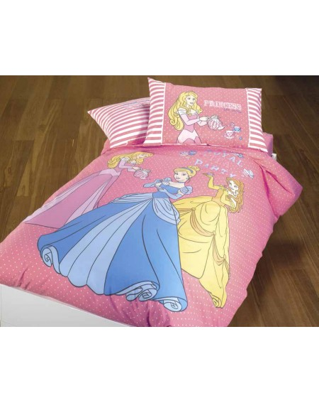 Duvet Set a fitted sheet, Princess Royal