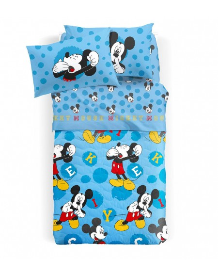 Edredon - duvet para cama individual Mickey azul