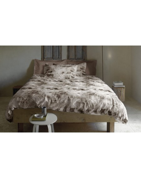 King Duvet Cover, Decor Urban Mix Beige Bedding Set Bassetti