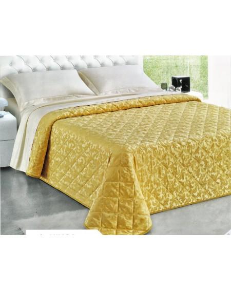 Bedspread CHIARA gold GF Ferrari cloth jacquard fabric
