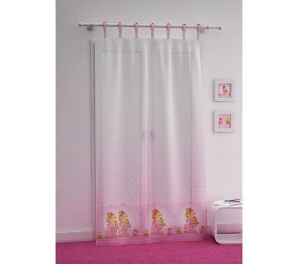 voilage rideau pr t poser 140 x 240 cm transparent sarah kay night rasoline l f d home. Black Bedroom Furniture Sets. Home Design Ideas